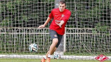 Артем Дзюба забил пять мячей за «Спартак»