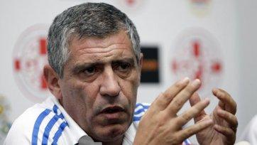 Фернанду Сантуш: «Мы хорошо смотрелись во втором тайме»