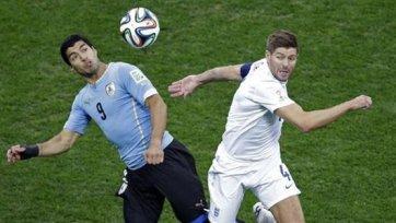 Суарес рассказал, о чем он говорил с Джеррардом после матче Англия – Уругвай