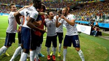 Франция куражится в игре со Швейцарией
