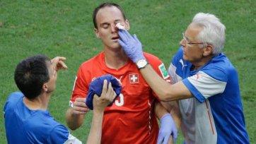 Фон Берген травмировался в поединке с Францией