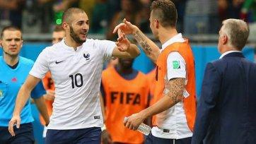 Бензема – лучший игрок матча Швейцария – Франция