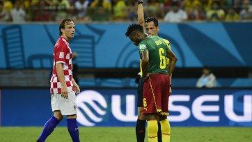 Сонг извинился за свою выходку в матче с Хорватией