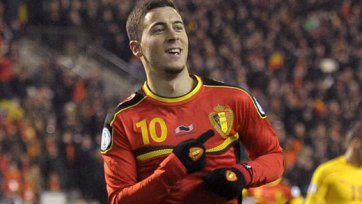 Азар – лучший футболист матча Бельгия – Россия