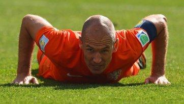Роббен – лучший игрок матча Нидерланды – Чили