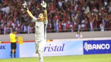 Кейлор Навас – лучший игрок матча Коста-Рика – Англия