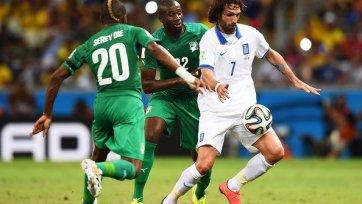 Греция шагает в плей-офф