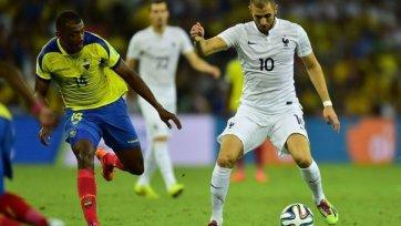 Нулевая ничья Эквадора и Франции, команда Руэды покидает мундиаль