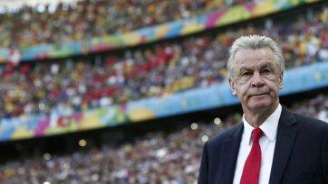 Хитцфельд: «На подготовку к матчу с Аргентиной есть несколько дней»