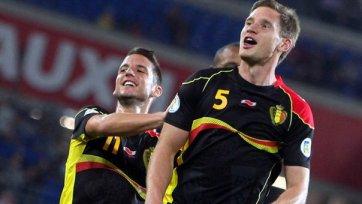 Бельгия в меньшинстве обыграла Южную Корею