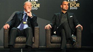 Гвардиола: «Лучше тренера, чем Дель Боске Испании в ближайшее время не найти»