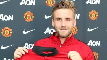 Официально. Люк Шоу подписал контракт с «Манчестер Юнайтед»