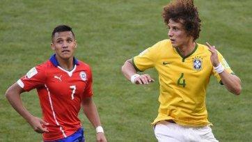 Бразилия одолела Чили в серии пенальти
