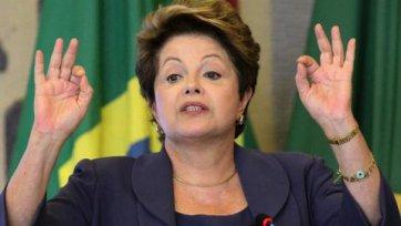 Президент Бразилии поблагодарила команду за победу
