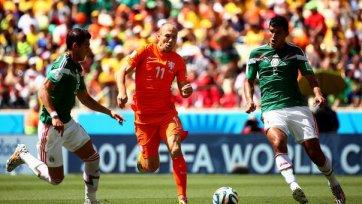 Нидерланды творят камбэк в дуэли с мексиканцами