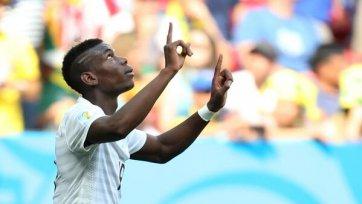 Погба: «Рад за команду и всю Францию»