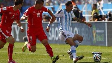 Аргентина с большим трудом обыграла Швейцарию