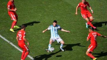 Месси – лучший игрок матча Аргентина – Швейцария