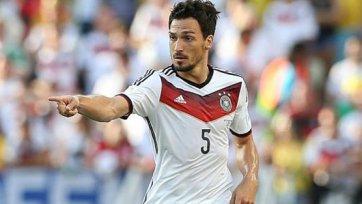 В матче с Францией Лев сможет рассчитывать на Хуммельса