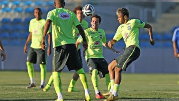 Сборная Бразилии испытывает волнение в преддверии матча 1/4 финала ЧМ
