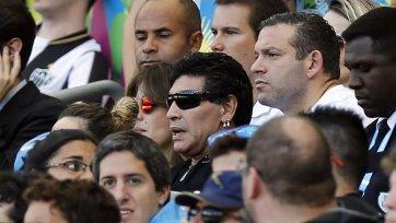Марадоне запрещено посещать VIP-ложи на ЧМ-2014