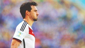 Хуммельс – лучший игрок матча Франция – Германия