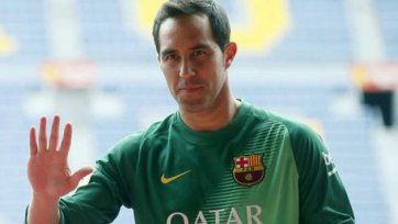 Клаудио Браво: «Благодарен «Барселоне» за веру в меня»