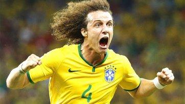 В матче с немцами капитаном сборной Бразилии будет Давид Луис
