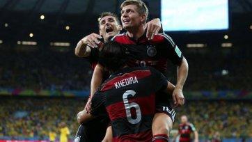 «Немецкая машина» ставит на колени Бразилию, и выходит в финал Чемпионата мира