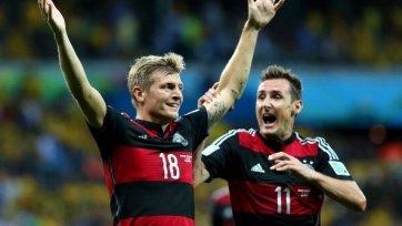 Кроос – лучший футболист матча Бразилия – Германия