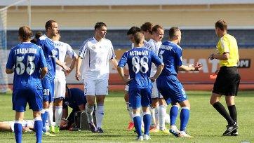 Первые дисквалификации ФНЛ сезона 2014/15