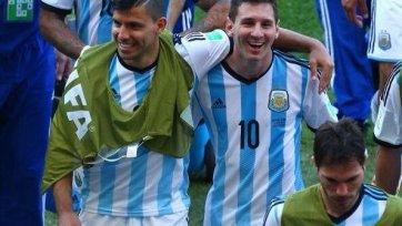 Агуэро: «На нас мало кто ставил, но мы в финале»
