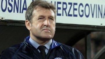 Сборную Боснии продолжит тренировать Сушич
