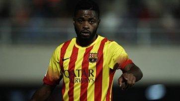 «Барселона» намерена расстаться с Алексом Сонгом