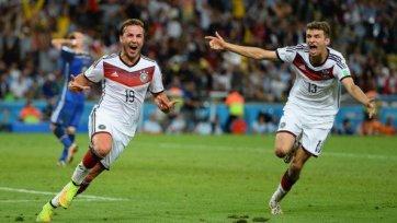 Гетце – лучший игрок финала Чемпионата мира