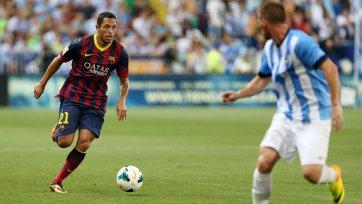 «Барселона» на полтора месяца теряет Адриано