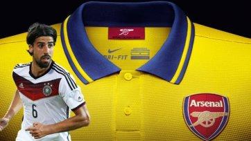 Хедира не может договориться с «Арсеналом» о личном контракте