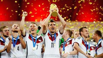 Новым лидером в рейтинге ФИФА стала сборная Германии