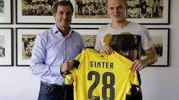Официально. Маттиас Гинтер представлен в качестве игрока «Боруссии»