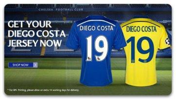 Диего Коста взял себе 19-й номер