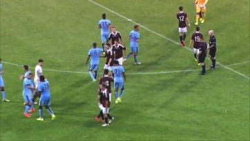 «Манчестер Сити» вырвал победу у «Хартса»