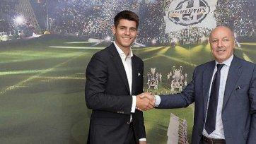 Официально: Альваро Мората – игрок «Ювентуса»