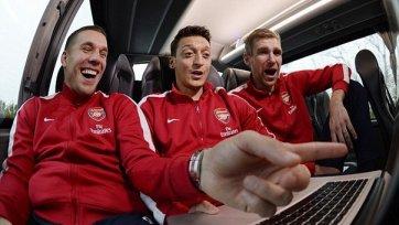 Немецкие легионеры «Арсенала» не примут участие в матче за Суперкубок Англии