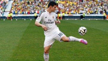 «Реал» за 48 часов заработал на Хамесе Родригесе 20,7 миллионов фунтов!