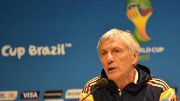 Пекерман покинул пост наставника сборной Колумбии
