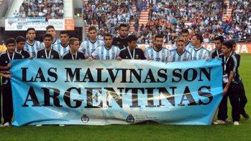 ФИФА оштрафовала сборную Аргентины за провокационный баннер