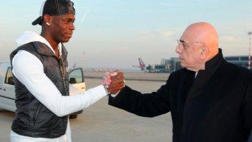 Галлиани: «Балотелли останется на «Сан-Сиро»