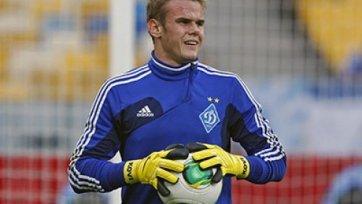 Московские клубы нацелились на кипера киевского «Динамо»