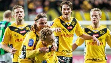 «Эльфсборг» сделал хорошую заявку на выход в следующий раунд