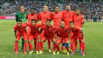 «Барселона» не смогла выиграть у «Ниццы»